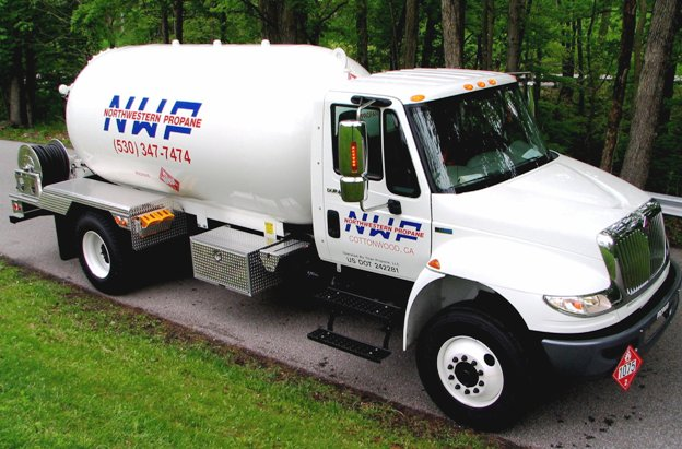 side-of-northwestern-propane-truck